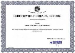 Certificate #1